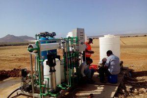 Installation d'une station osmose chez le client en Algérie