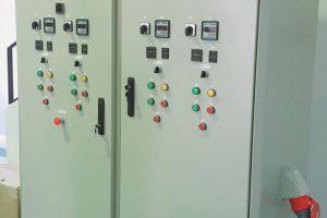 Confection une armoire avec transformateur 125kVA d'une station d'épuration à Tozeur