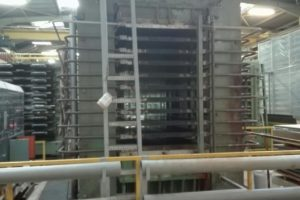 Automatisation presse : mise en service